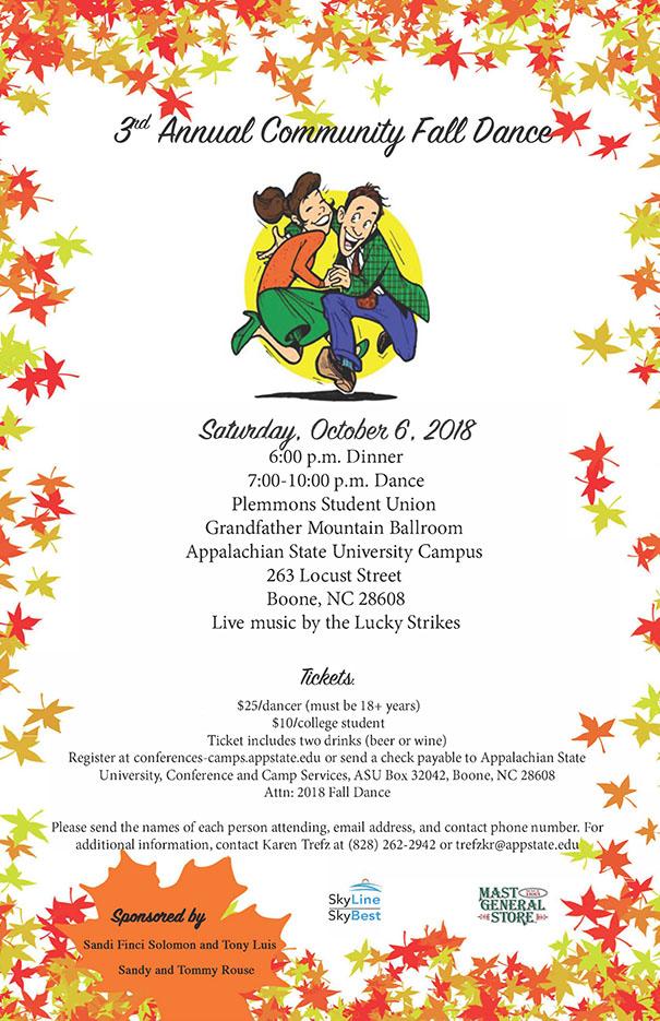 3rd Annual Community Fall Dance