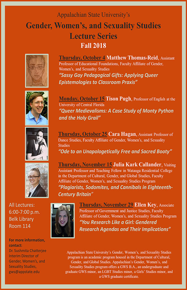 Gender, Women's and Sexuality Studies Lecture Series