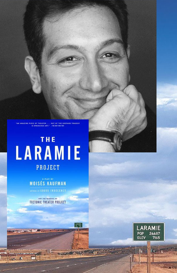 CANCELED: Reading and book signing with 'The Laramie Project' author Moisés Kaufman
