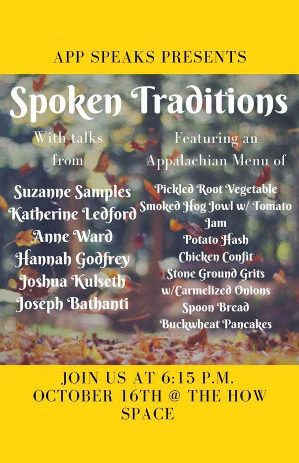 Spoken Traditions of Appalachia
