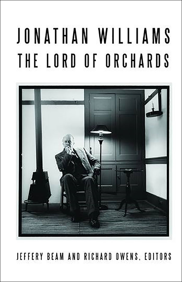"TAC Talk — Jeffery Beam presents ""Jonathan Williams: Lord of Orchards"""