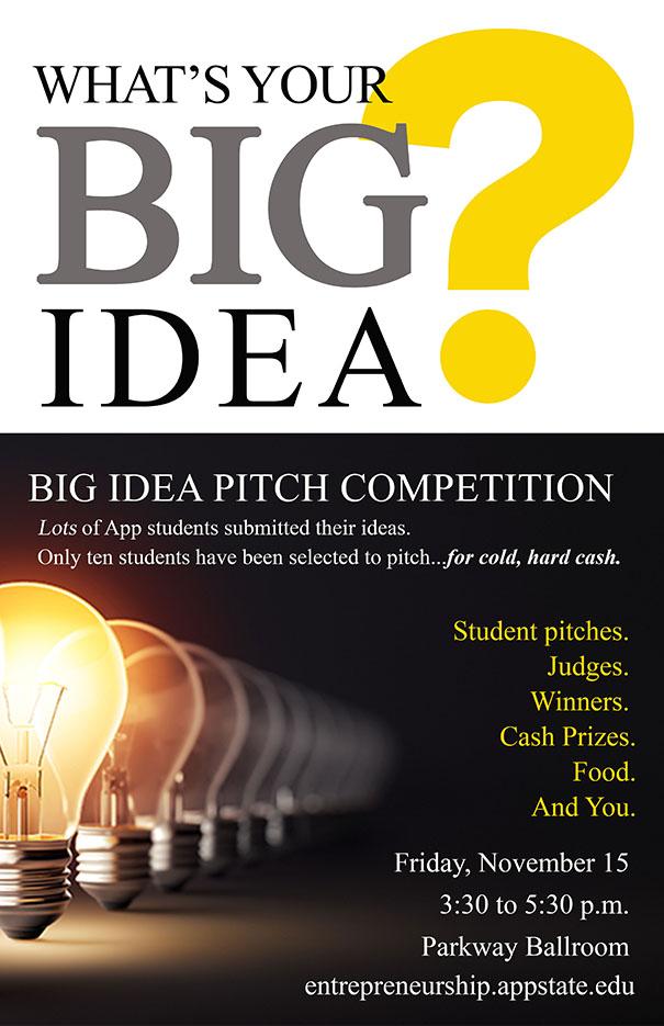 Big Idea Pitch Competition