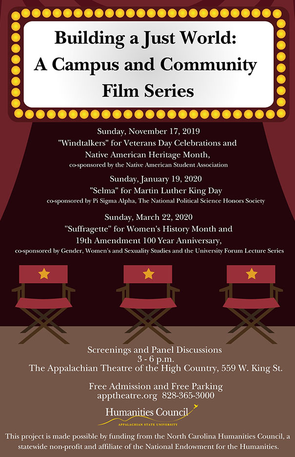 Building a Just World: A Campus and Community Film Series