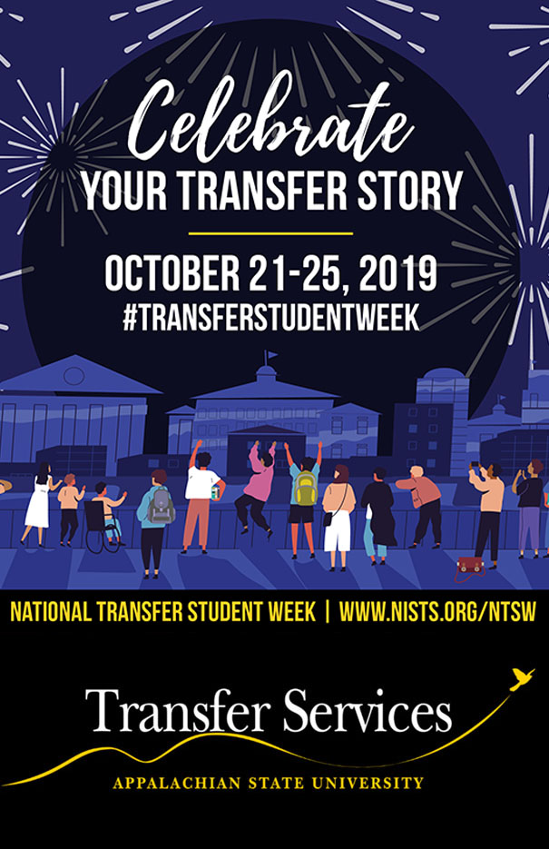 Celebrate National Transfer Student Week