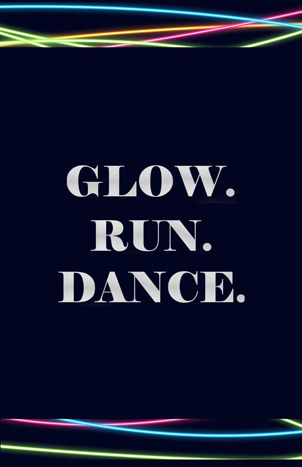 Glow Run and Student Dance