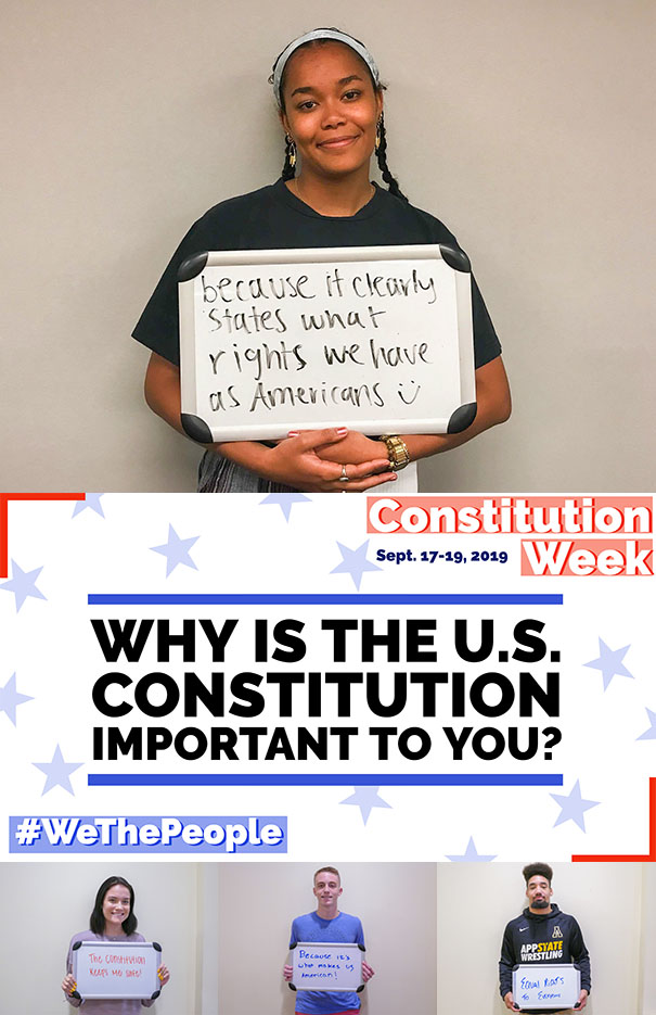 Constitution Day Digital Display