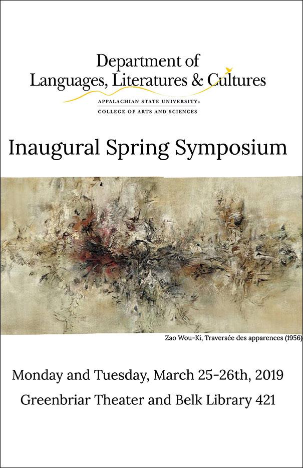 Languages, Literatures & Cultures: Inaugural Symposium