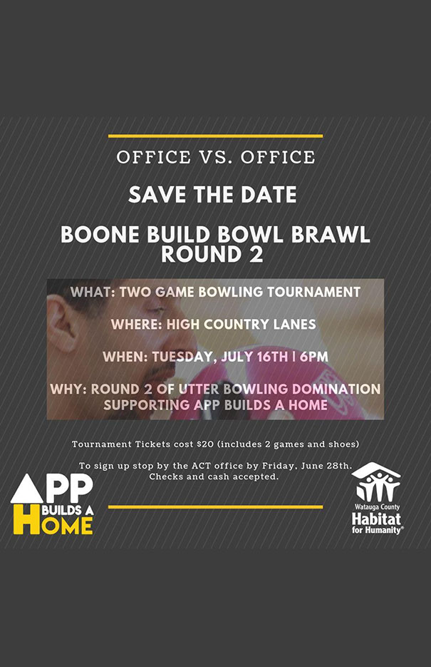 Boone Build Bowl Brawl Round 2
