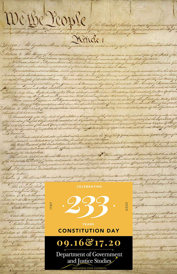 Constitution Day Virtual Event