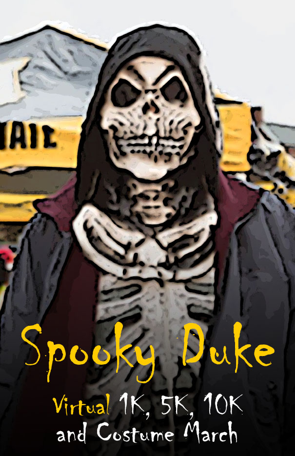 Spooky Duke Virtual 1K, 5K, 10K and Costume March