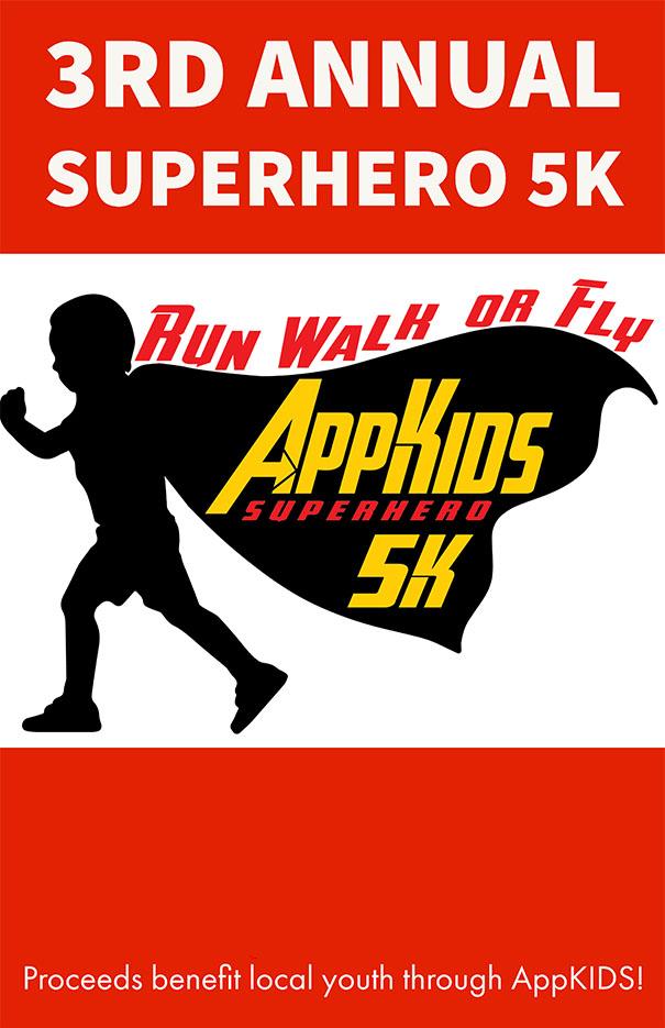 AppKIDS Superhero 5K Virtual Race