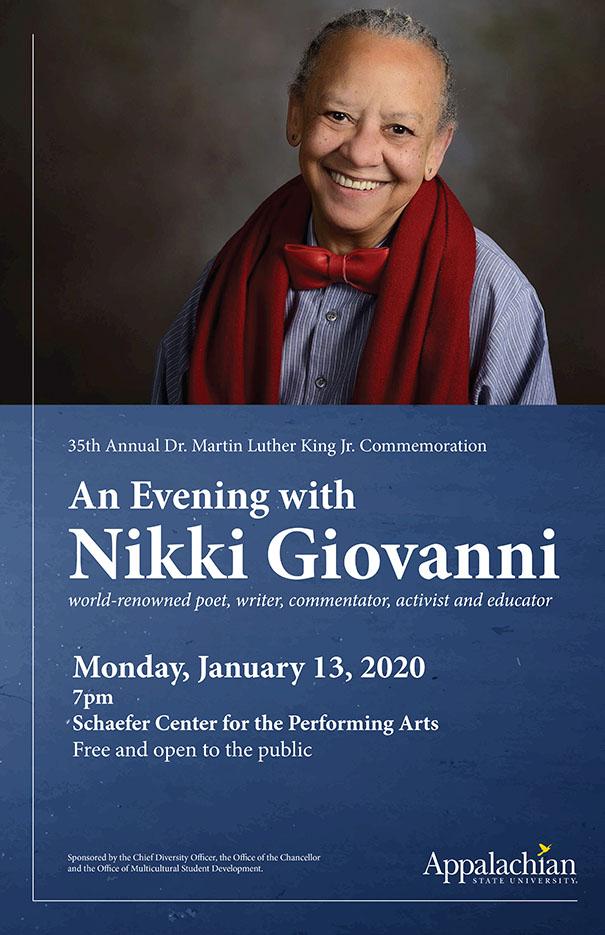 An Evening with Nikki Giovanni