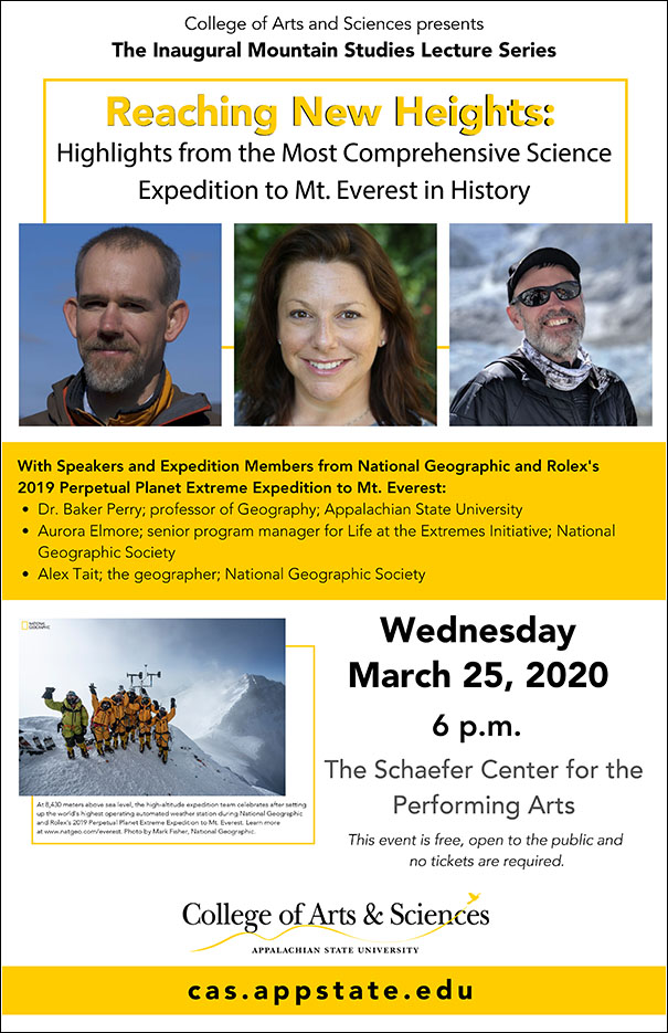 Reaching New Heights: Highlights from the Most Comprehensive Science Expedition to Mt. Everest in History