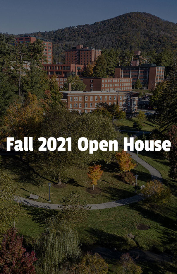 Fall 2021 Open House (in person)