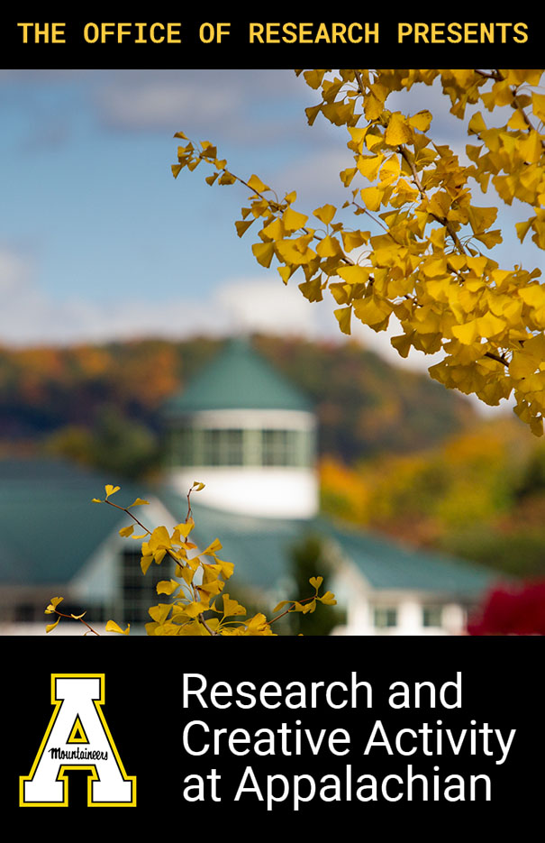 Research and Creative Activity at Appalachian