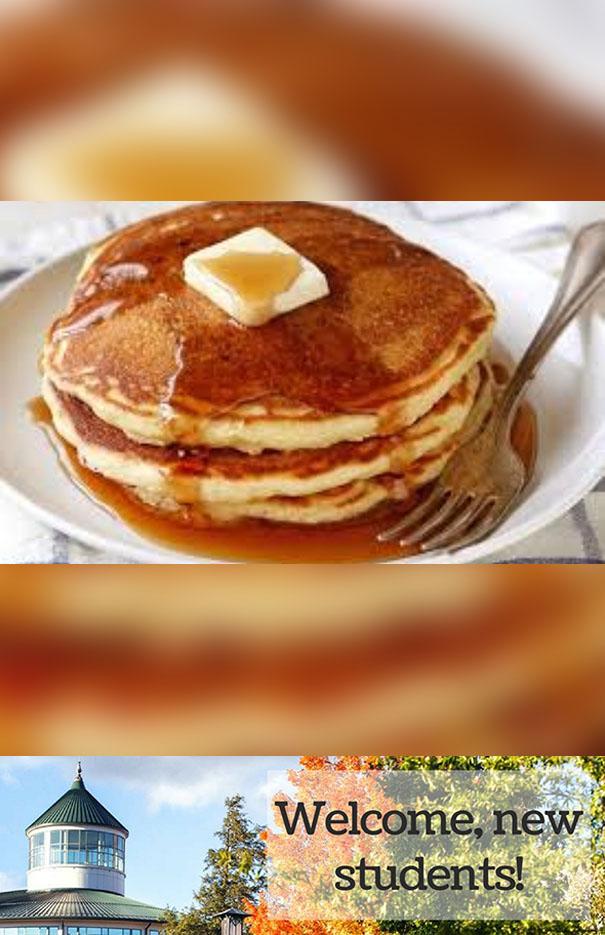 Late-Night Pancake Breakfast