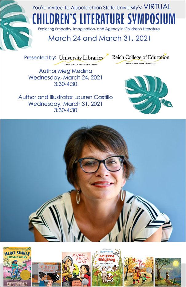 Virtual Children's Literature Symposium: Author Meg Medina