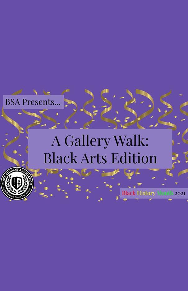 Black Arts Gallery Walk