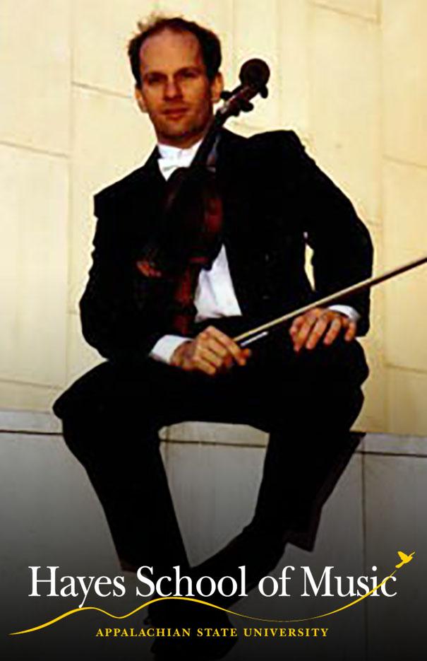 Faculty recital: Eric Koontz, viola