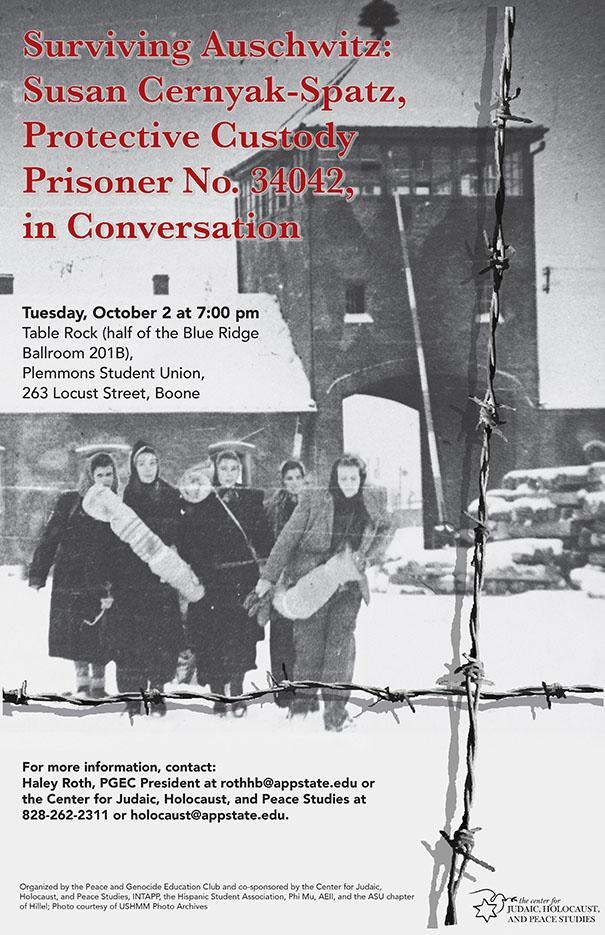 Auschwitz Survivor Dr. S. Cernyak-Spatz in Conversation
