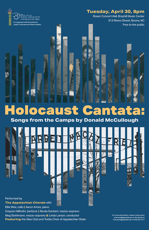 Appalachian begins Days of Remembrance with Holocaust Cantata