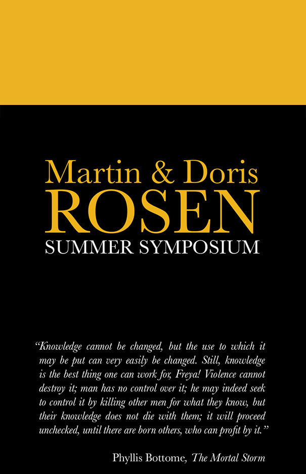 Martin & Doris Rosen Summer Symposium: Education During and After the Holocaust