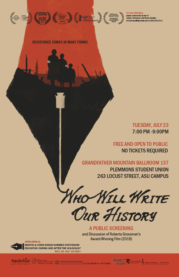 Free Screening of Award-Winning Film on a Jewish Group in the Warsaw Ghetto Fighting the Nazis with the Truth