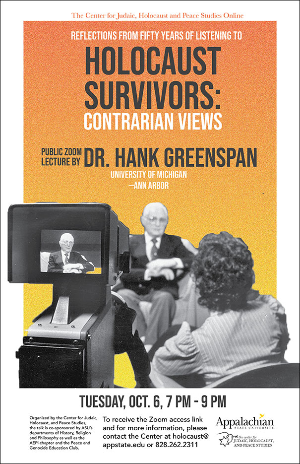Renowned Oral Historian on 50 Years of Holocaust Survivor Research