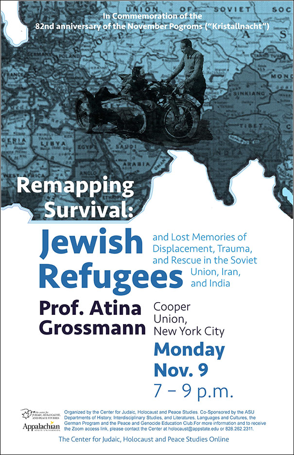 "Commemorating ""Kristallnacht"": Atina Grossmann on Jewish Refugees from Nazi Germany"