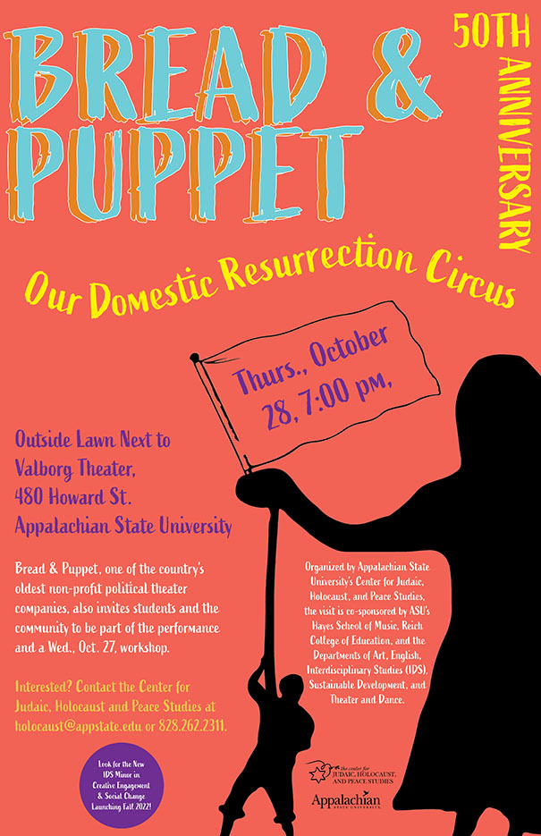 """Bread & Puppet is Coming: Free Performance of """"Our Domestic Resurrection Circus"""""""