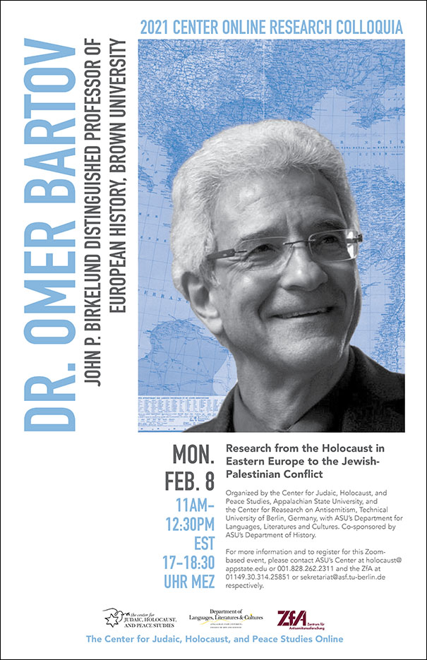 Prominent American-Israeli Historian Omer Bartov on Rewriting the Holocaust