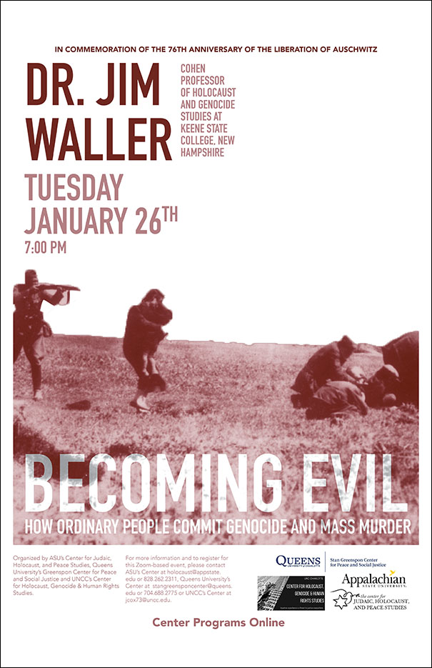 Renowned Social Psychologist Prof. James Waller on Becoming Evil: How Ordinary People Commit Genocide