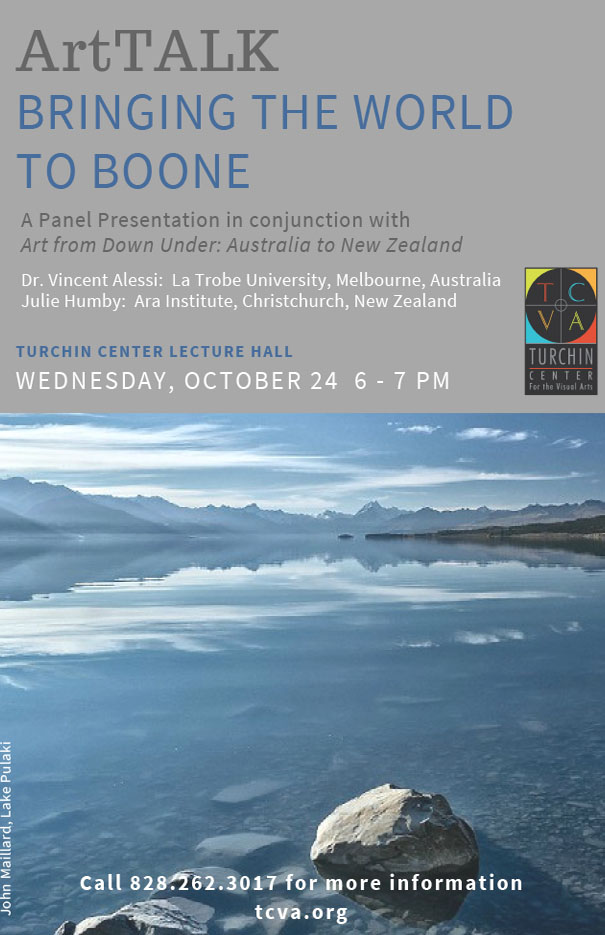 ArtTALKS Panel Presentation: Bringing the World to Boone!