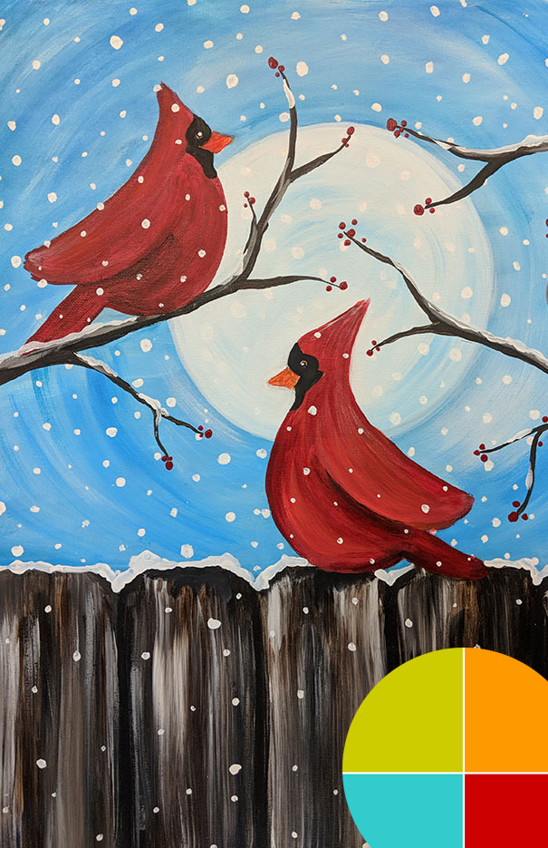 Paint Night for Appalachian Students