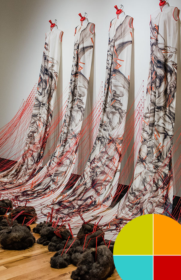Lian 連 Lian 鏈 – An installation by Hui Chi Lee