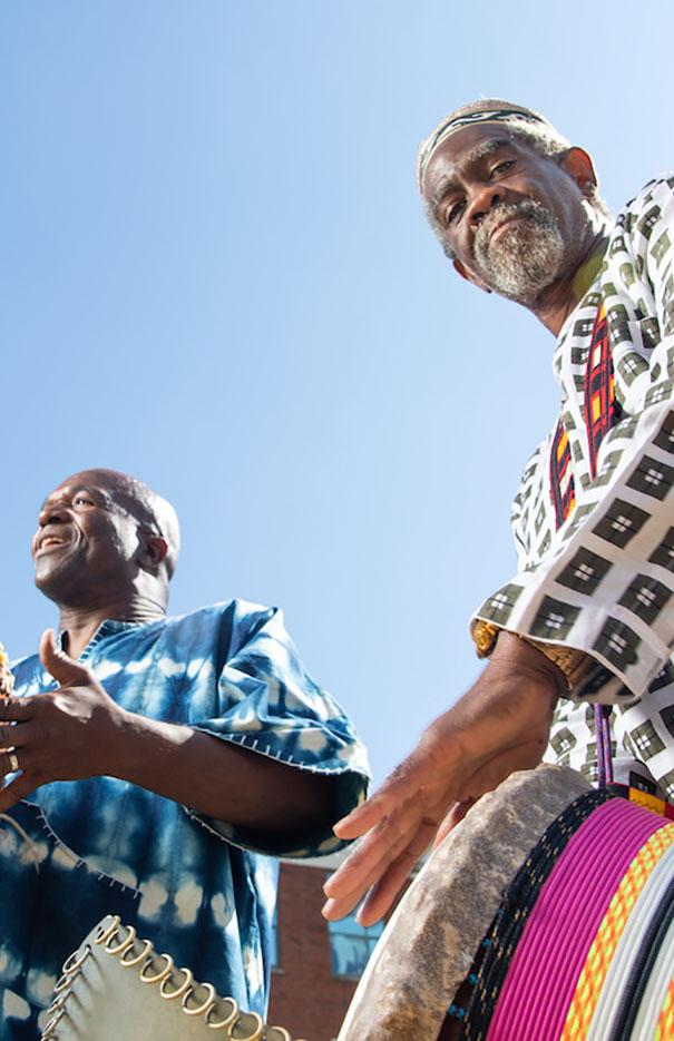 African Dance/Drum Workshop