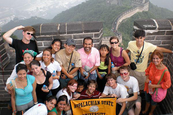 Appalachian students experience the world