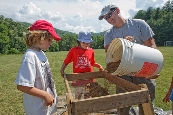 Appalachian students and children find artifacts