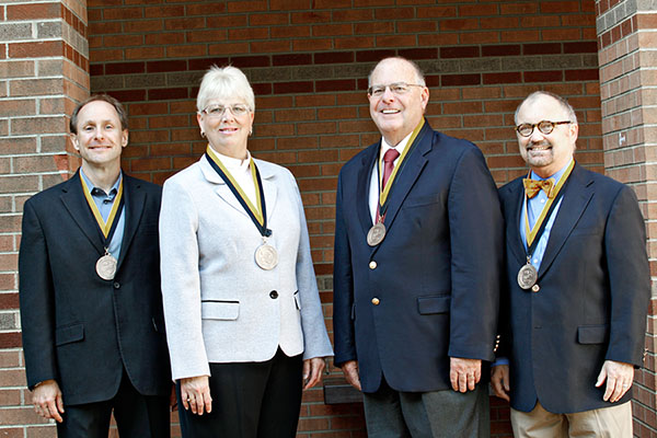 Business faculty honored for excellence in teaching, research and service