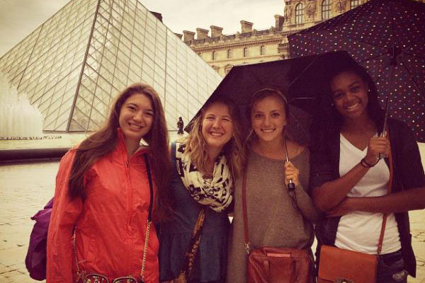 Wilson Scholars begin college with study abroad in France