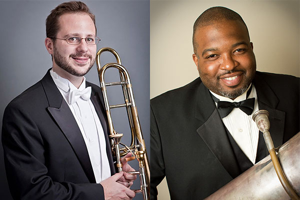 Faculty recital Feb. 8 features works for trombone and tuba