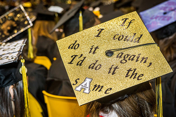 Graduation ceremonies held May 8-10 at Appalachian