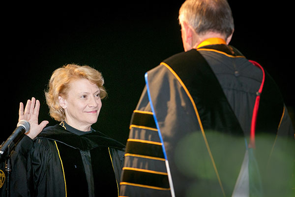 Everts installed as Appalachian's seventh chancellor