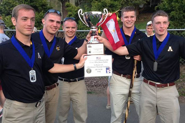 ROTC Cadet team wins the 8th Annual Mountain Man Memorial March