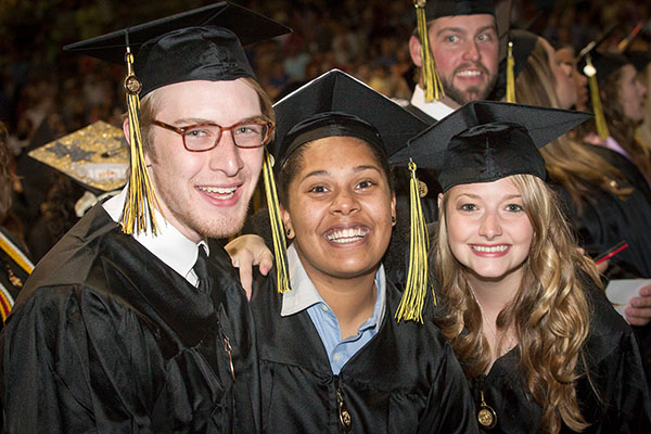 More than 2,600 receive degrees during Appalachian's May ceremonies