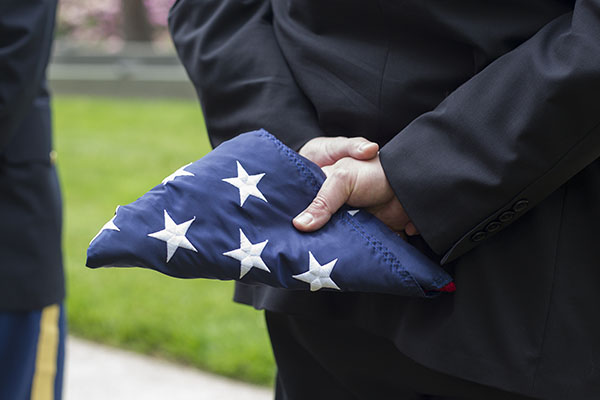 Memorial Day Ceremony at Appalachian, May 25, 2015