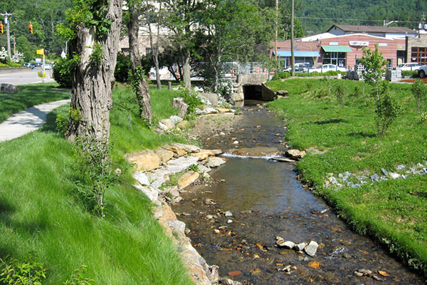 Professors' paper on urban stream restoration receives 2015 Boggess Award
