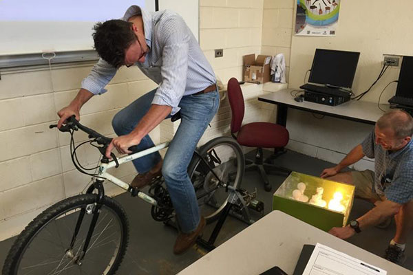 K-12 teachers attend renewable energy workshop at Appalachian