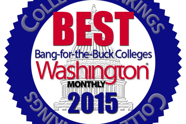 "Appalachian named in Washington Monthly's ""Best Bang for the Buck"" list"