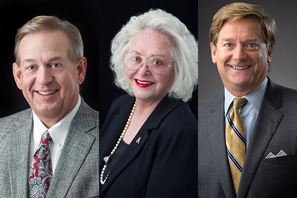 Adcock, Roess and Barnes elected to positions on Appalachian's Board of Trustees